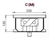 Чертеж конвектора Carrera S/C