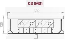 Чертеж конвектора Carrera S2/C2