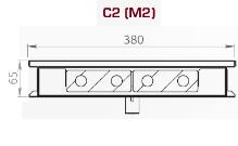 Чертеж конвектора Carrera M2