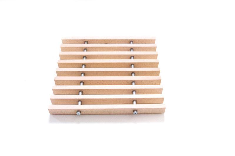 Деревянная решетка Бук Хитте