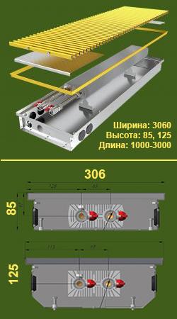 Конвектор КПЕ 306