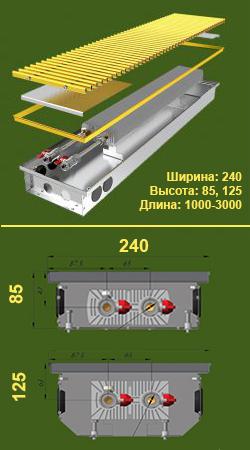 Конвектор КПЕ 240