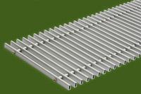 Алюминиевая решетка (Сатин) ТМ Конвектор