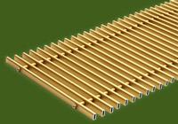 Алюминиевая решетка (Золото) ТМ Конвектор