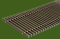 Алюминиевая решетка (Бронза) ТМ Конвектор