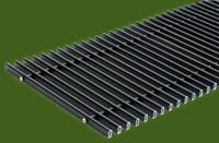 Алюминиевая решетка (Черный) ТМ Конвектор