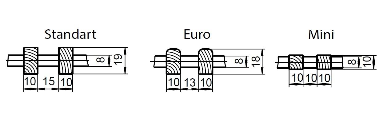 Высота деревянной решетки Polvax