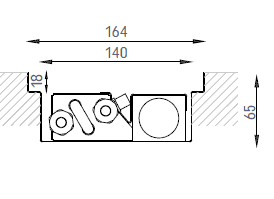 Verano VKN1 (Ширина 170 мм. Глубина 65 мм)