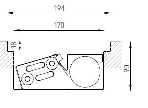 Verano VKN1 (Ширина 200 мм. Глубина 90 мм)