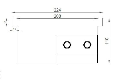 Verano VK15 (Ширина 230 мм. Глубина 110 мм)