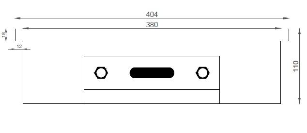 Verano VK15 (Ширина 440 мм. Глубина 110 мм)