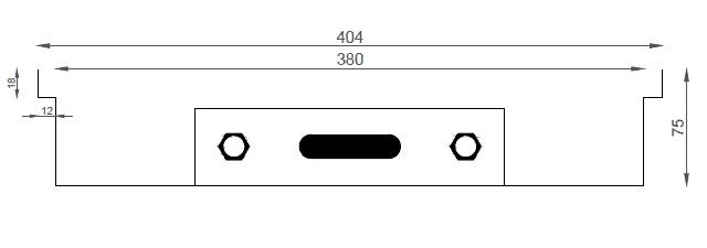 Verano VK15 (Ширина 440 мм. Глубина 75 мм)
