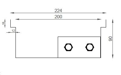 Verano VK15 (Ширина 230 мм. Глубина 90 мм)