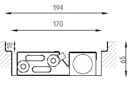Verano VKN1 (Ширина 200 мм. Глубина 65 мм)