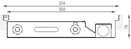 Verano VKN5 (Ширина 380. Глубина 75)