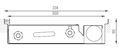 Verano VKN5 (Ширина 380. Глубина 90)